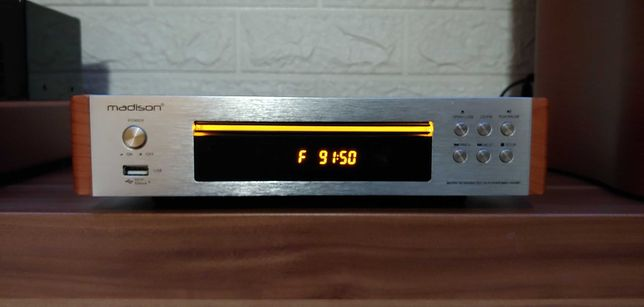 Odtwarzacz CD Madison, radio, USB, pilot