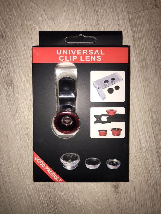 Universal Clip Lens- zestaw do telefonu Zgierz - image 1