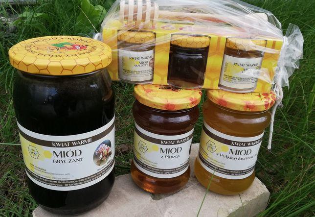 Miód Polski / Kwiat Warmii / duży wybór smaków