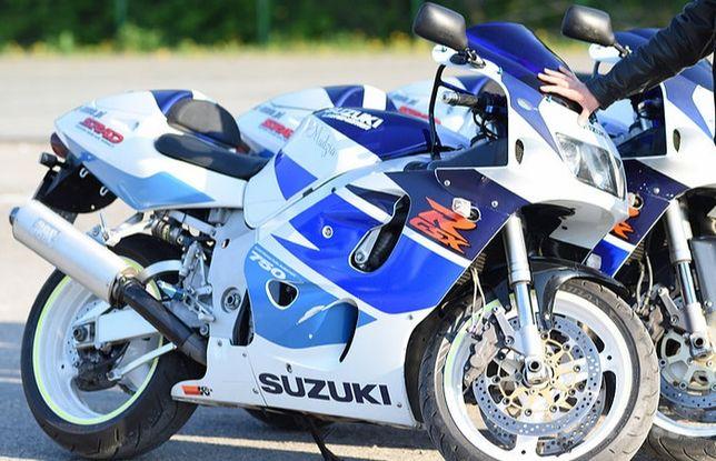 Suzuki GSX-R gsxr 750 SRAD Silnik skrzynia głowica rama lagi owiewki