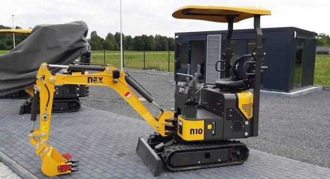NEX N10 ramię skrętne. Super mocny silnik 20 KM