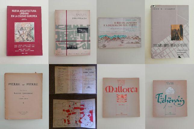 Vários Livros de Arquitectura