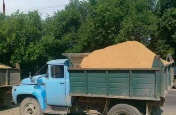 Привезу стройматериалы: песок, щебень...