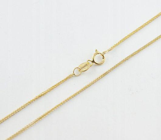 złoty łańcuszek LISI OGON ZŁOTO pr.585 50cm