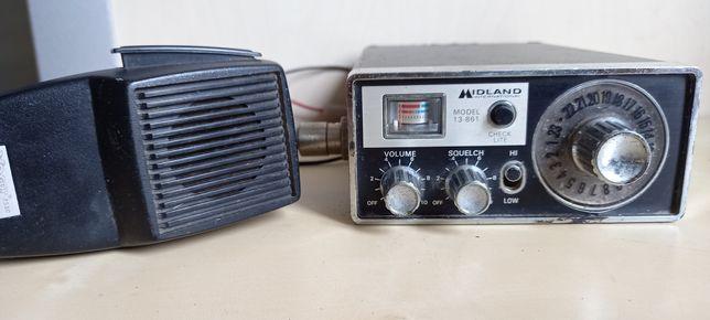 Stare CB radio Midland Model 13-861.