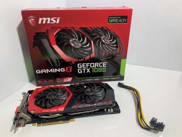 MSI Geforce GTX 1080 Gaming X 8GB GDDR5X VR