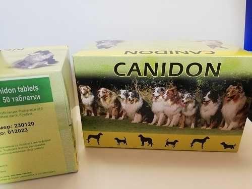 CANIDON Tabletki na odrobaczanie Pies 1 tabl.