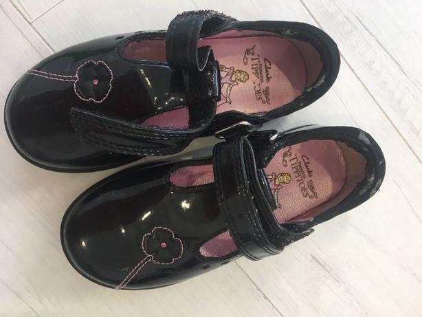 Туфельки Clarks стелька 15,5 см 7 размер