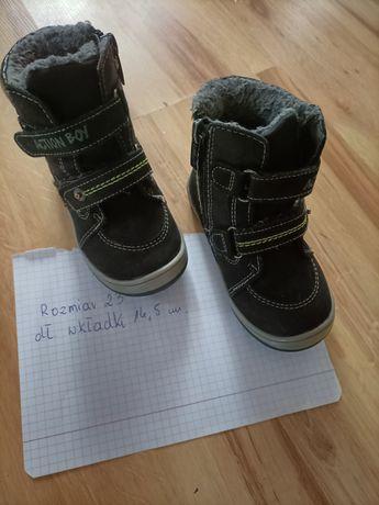Buty chłopięce w dobrym stanie