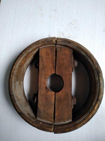 Drewniane koło pasowe