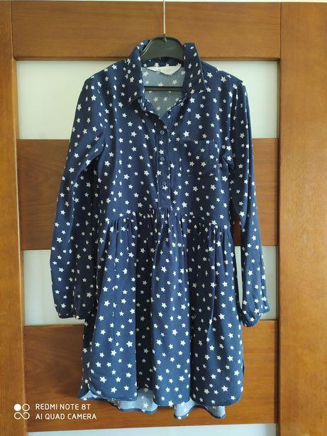 Sukienka tunika h&m 140