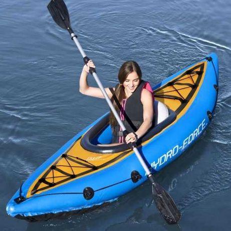 Kayak Insuflável c/ 2 Remos 275x81x45cm *Artigo Novo*