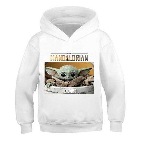 Детская толстовка Baby Yoda (Беби Йода) Мандалорец