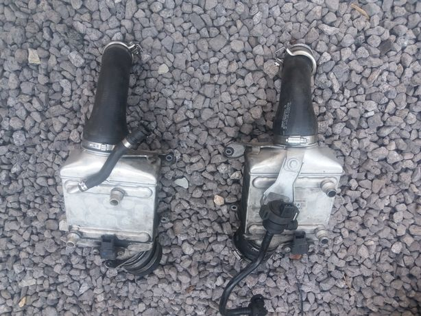 Przewody gumowe intercolera Bmw 4.4 V8 N63B44A 408 PS