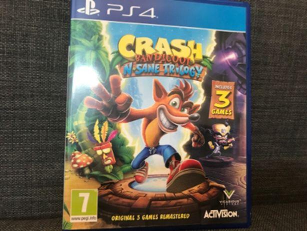 Crash N Sane Trilogy PS4 ideal