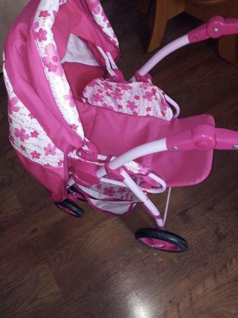 Wózek dla lalki,dla dziewczynki 3+,i dwie lalki ,cena za całość