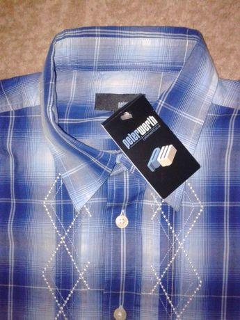 РАСПРОДАЖА новая фирменная peterwerth тенниска-рубашка р3 peter werth