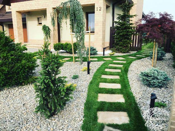 Trawa z rolki/zakładanie ogrodów/system nawadniania/projekt ogrodu 3D