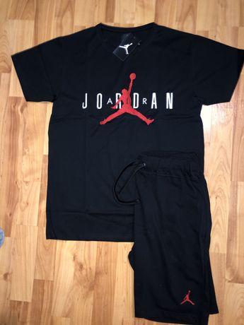 Conjunto t-shirt + calção Air Jordan