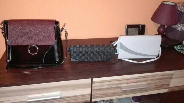 torebki damskie jak nowe :)