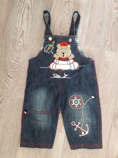 Комбинезон джинсовый,одежда для новорожденных