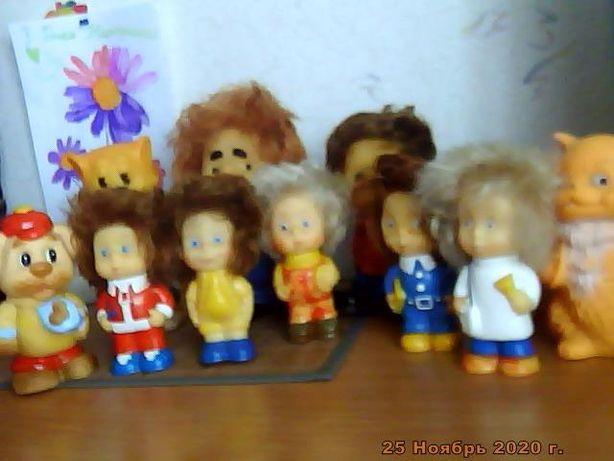 Резиновые игрушки СССР, Карлсон, Сорванец, Веселые человечки