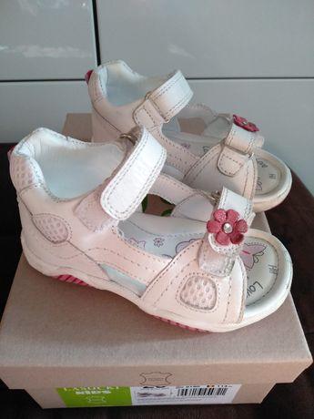 Buciki sandałki dla dziewczynki rozmiar 23 Lasocki