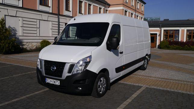 Wynajem samochód dostawczy blaszak bus NV400 L3H2 master movano