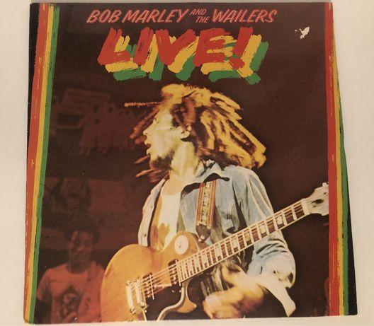 Виниловая пластинка Bob Marley and the wailers Live! + ПОСТЕР