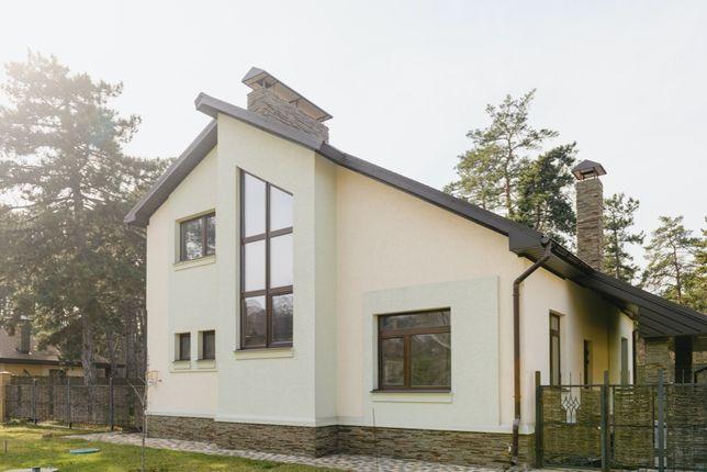 Продам коттедж с ремонтом в сосновом лесу Орловщины, 272 м²