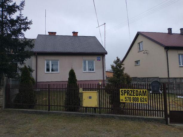 Dom 80m2, działka 13 lub 18 arów, Łuków/Rurowa