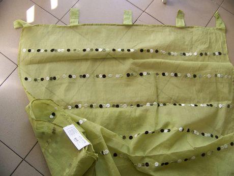 firanka Ikea jasnozielona