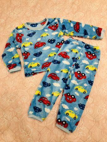 Тепла піжама, костюм для дому на 3-4р.