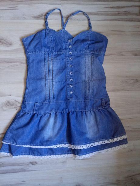 Sukienka jeans L