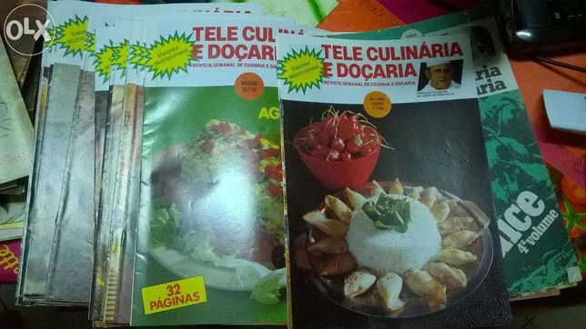 Revista Tele Culinária e Doçaria