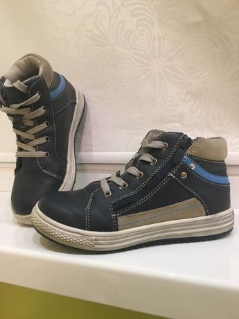 Ботинки осенние, обувь на мальчика 31 размер,