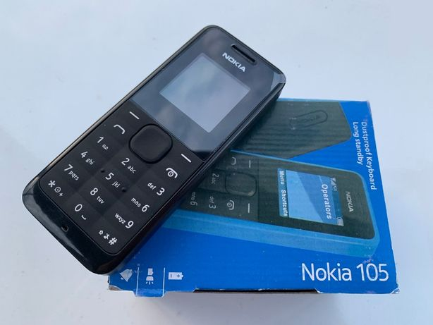 Мобильный телефон Nokia 105 (новый в пленке)