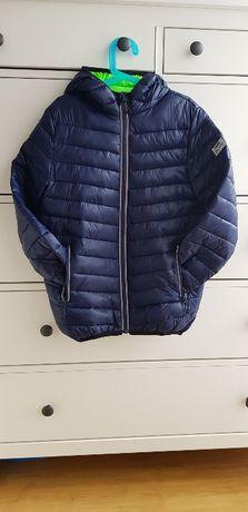 Ocieplana pikowana kurtka z elementami odblaskowymi 140 Reserved
