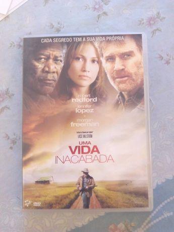 DVD - Uma Vida Inacabada (novo)