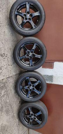 Alufelgi ford opony wielosezonowe koła 205/55/16 Bridgestone 5x108