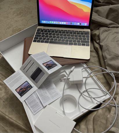 Apple macbook retina 12 in 2017, 8 gb оперативки, 512 gb хранилище, i5