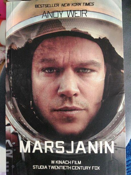 Marsjanin bestseller książka tanio