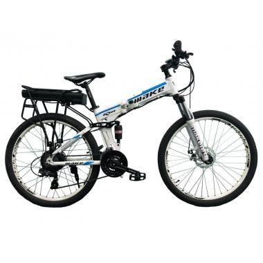 "Електровелосипед складаний МАКЕ 36V12Ah500W 26"" рама 17"" алюмінієвий"