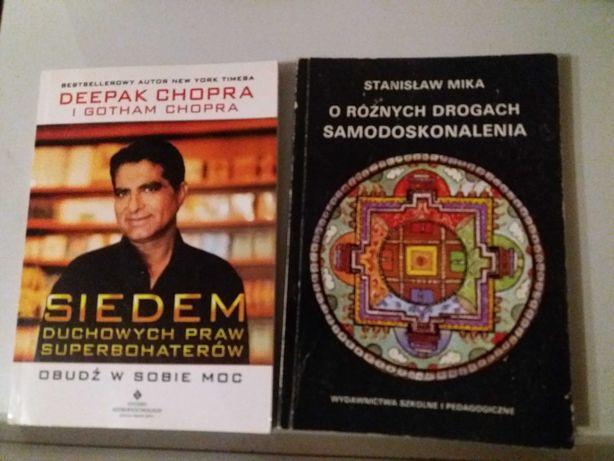 Książka Deepak Chopra,  rozwój osobisty, holistyczne podejście