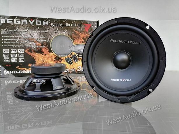 Компонентные динамики 16см Megavox MHD-622R / акустика / колонки