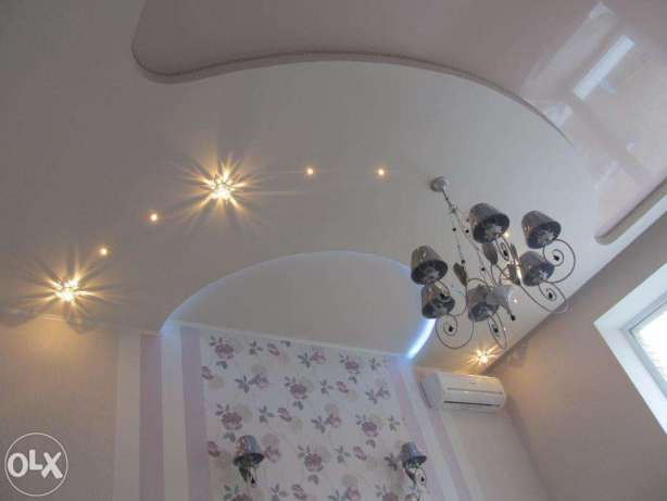Французские натяжные потолки - от 160 грн/м²