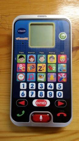 Telefon edukacyjny j. Francuskiego vtech v.Phone Kid
