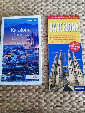 Przewodnik Barcelona, Costa Brava i mapa duża zalaminowana