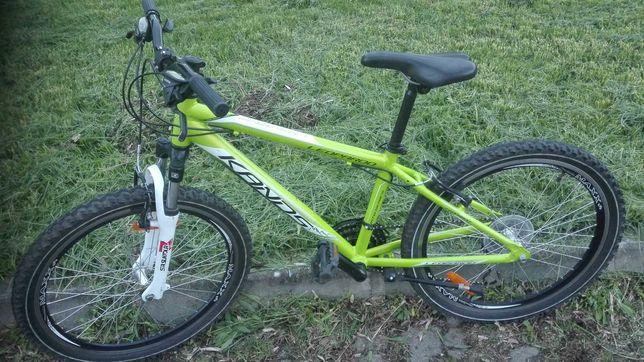 Rower górski 24 kands leopardo aluminiowa rama dla dzieci  nie kross
