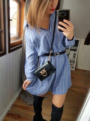 Sukienka koszulowa bawełna